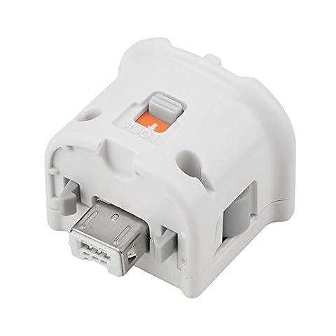 NewBull White Motion Plus Adapter Sensor for Wii Wii U Remote Controller - Sensor Controller