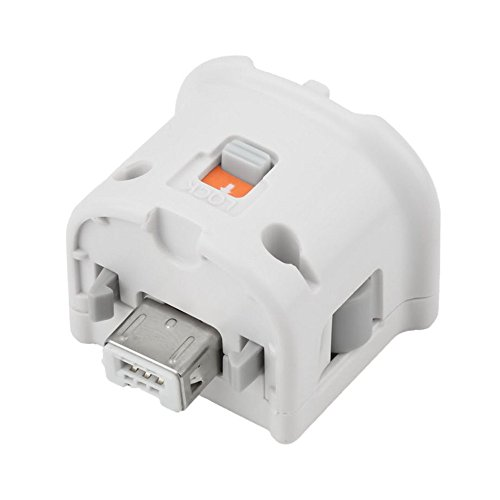 Plus Wii - NewBull White Motion Plus Adapter Sensor for Wii Wii U Remote Controller