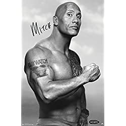 "Trends International Baywatch Mitch Prints, 22.375"" x 34"""
