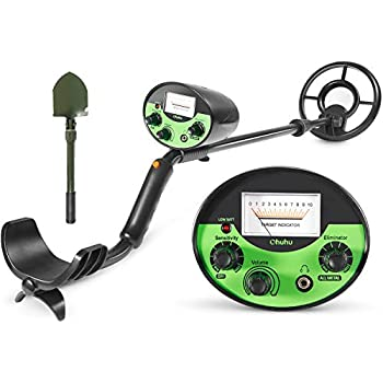 Ohuhu Metal Detector, High Accuracy Detector with Pinpoint Function, Outdoor Gold Digger with Waterproof & Sensitive Search Coil for Treasure Hunting, ...