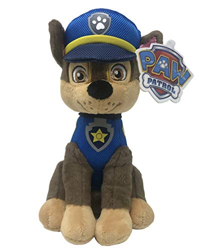 Penn Plax Officially Licensed Paw Patrol Chase Reinforced Plush Dog Toy PAWD30