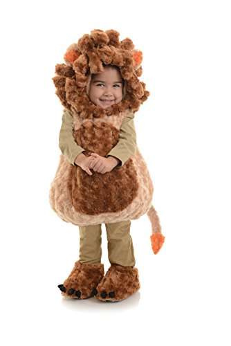 Underwraps Toddler's Lion Belly Babies Costume, Tan/Brown, Large (2-4T)