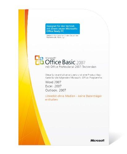 Microsoft Office Basic 2007 (licentie-key)