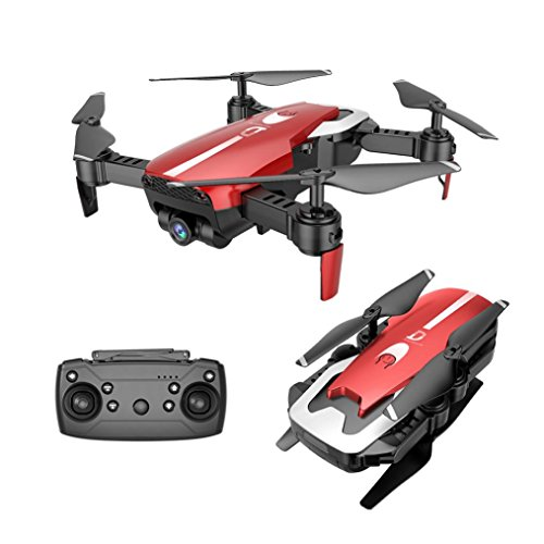 Inverlee X12 Drone 720P Wide Angle Camera WiFi FPV 2.4G One Key Return QuadcopterToy Gift (Red) by Inverlee