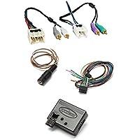 Metra 70-7551 Amplifier Integration Harness 995-2005 Nissan and Infiniti With Metra Axxess ASWC-1 Universal Steering Wheel Control Interface
