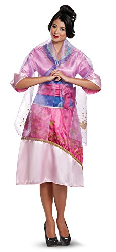 Mulan Costume Adults (21425 (Ladies Small) Adult Mulan Costume Disney Princess)