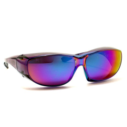 Rodeo M1 Fit Over Prescription Rx No Blind-spot Driver Day & Night Wrap Around Glasses