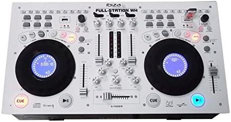 Ibiza FULL-STATION-WH - Consola de mezclas profesional, color ...