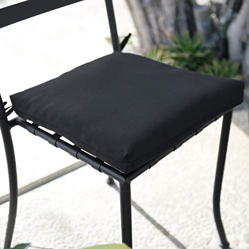 ThuyTien Jordan Manufacturing 15 x 15.5 in. Bistro Seat Pad - Set of 2 Jordan Manufacturing 15 x 15.5 in. Bistro Seat Pad - Set of 2 (Set Bistro Uk Furniture Garden)