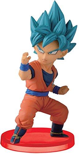 "Super Saiyan God SS Son Goku: ~2.5"" DragonBall Super x Banpresto WCF Mini Statue Figurine Vol.5 (37402-025)"