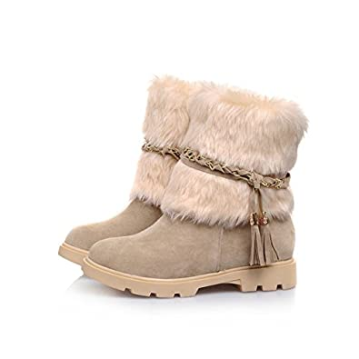 Amazon.com | Mostrin Women's Water Resistant Short Boot