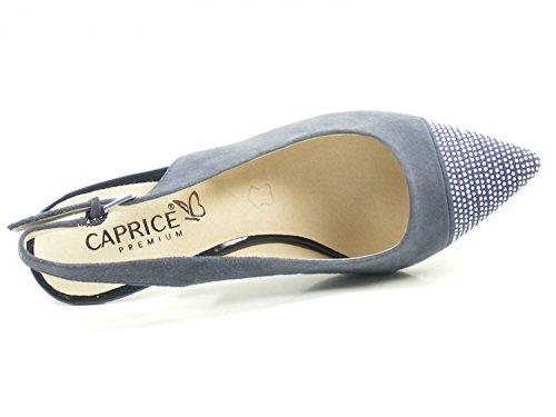 9 Mode 20 Blau 29608 Caprice Sandales Femme 7ZgvUxU