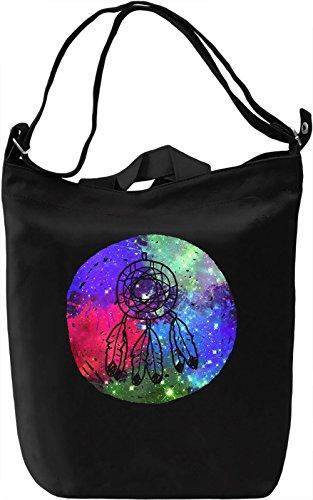 Colourful Dream Catcher Borsa Giornaliera Canvas Canvas Day Bag| 100% Premium Cotton Canvas| DTG Printing|