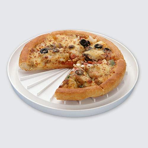 Bandeja para pizza multiusos redonda para microondas: Amazon.es: Hogar