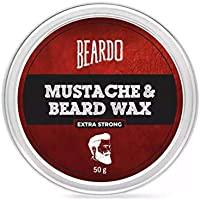 Beardo Beard and Mustache Wax - Extra Strong 50 gm