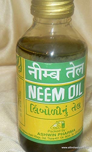 Ashwin Neem Oil 100 ml Product of India by Ashwin