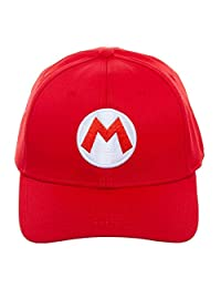 Bioworld - Super Mario - Mario Flex Fit Baseball Cap (OSFM)