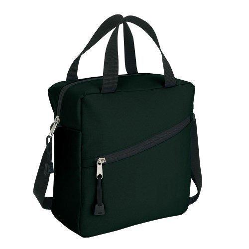 eBuyGB déjeuner sophistiqué sac isotherme avec poignée de transporter - stockage aliments boissons (noir)