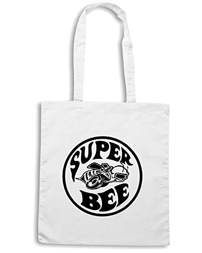 Borsa MOPAR TB0430 MUSCLECAR SUPER BEE AMERICAN DODGE Shopper CORONET Bianca a1pqwar