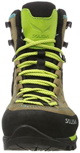 SALEWA Mujer Walnut Green WS Senderismo Swing GTX 2720 Trainer de Mtn para Mid Botas Multicolor rrwgzTq