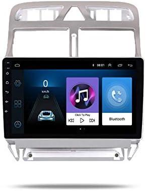 9 Zoll Android 10 Quad Core 2 16 GB Autoradio-GPS-Navigator Kompatibel mit Peugeot 307 307CC 307SW 2002-2013 Unterst/ützt Bluetooth 4.0 Radio WiFi 4G USB-Mikrofon CANBUS ISO-Kabel