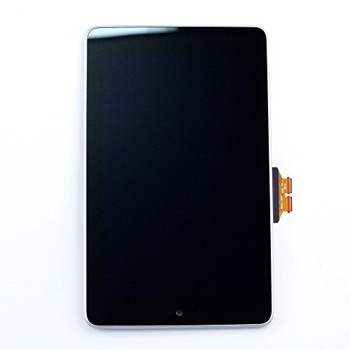 XQ - LCD Display + Touch Screen Digitizer Assembly With Frame For Google Nexus 7 ASUS ME370 ME370T Tablet (2012) Replacement (Nexus 7 Tablet Replacement Screen)