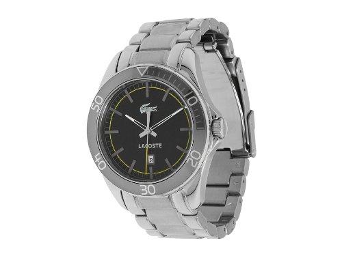 Lacoste Sportswear Collection Sport Navigator Black Dial Men's watch #2010506 - Lacoste Sport Navigator