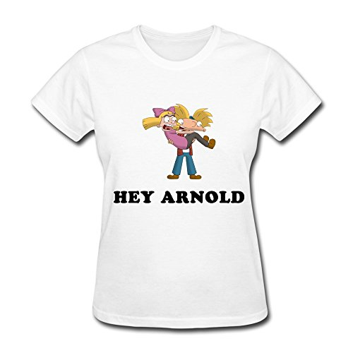 Kazzar Women's Hey Arnold Project Heart T Shirt XXL