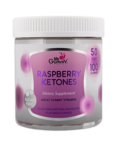 Mr Gummy Vitamins Raspberry Ketones Sugar Free Dietary Ketogenic Supplement | Promotes Healthy Weight Loss, Supports Metabolism & Provides Strength | [100 Gummies, 50-Day Supply] | for Men and Women by Mr. Gummy (Image #9)
