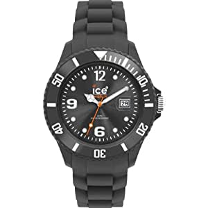 Ice-Watch SI.EC.B.S.10 - Reloj analógico unisex de cuarzo con correa negra
