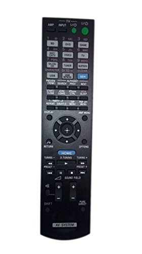 Replaced Remote Control Compatible for Sony STRDH540 RM-AAU170 1-492-051-11 RMAAU169 STR-DH540 Audio / Video AV Receiver Home Theater System -  JustFine, LYSB01MFDMQTF-ELECTRNCS