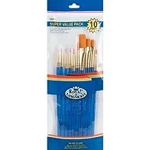 Royal Brush and Langnickel Gold Taklon Brush Set Super Value Pack