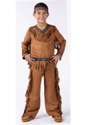 Fun World FBA_FW131022SM Native American Costume - Varys Costume Pattern