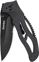 The Atomic Bear Folding Knife with Half ...