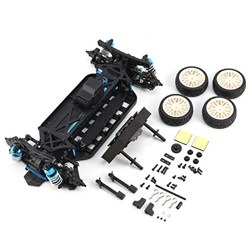 KMtar LRP S10 Blast TC 2 Clubracer Non-RTR with Wheel Tires and Body - 1/10 4WD Electric Touring Car DIY Accessories Component ()