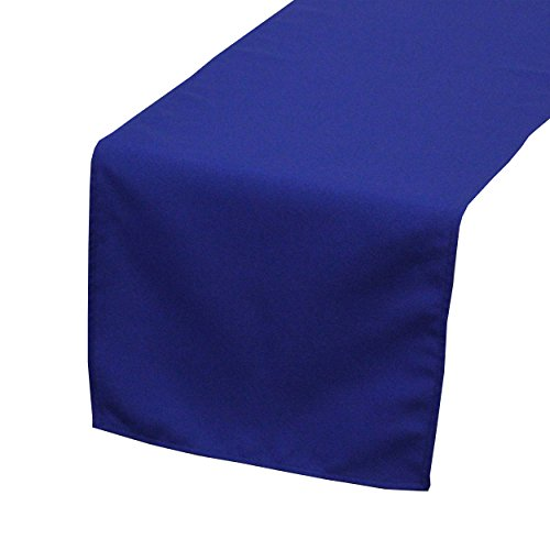 Your Chair Covers - 14 x 108 inch Polyester Table Runner Royal Blue, Table Runner for Weddings, Events, Hotels and Catering - Runner Table Polyester