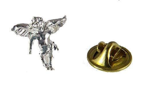 6030333 Guardian Angel Lapel Pin Brooch Tie Tack Collar.