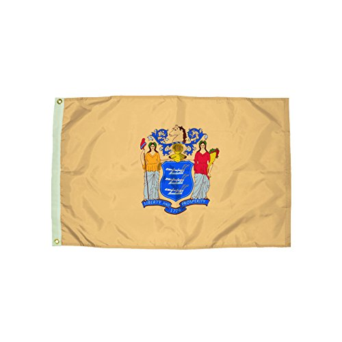 Independence Flag Nylon New Jersey Flag, 3 x - Outlets Jersey In New