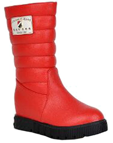 Laruise Women's Snow Boots Red gaGS2gGyPR