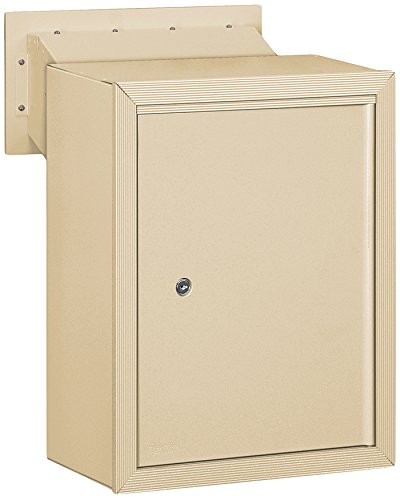 Salsbury Industries 2256SAN Receptacle Option for Mail Drop, Sandstone