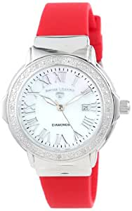 Swiss Legend Reloj South Beach Rojo