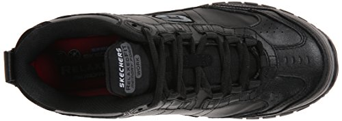 Skechers for Work Scarpa da uomo Soft Shoe, nero