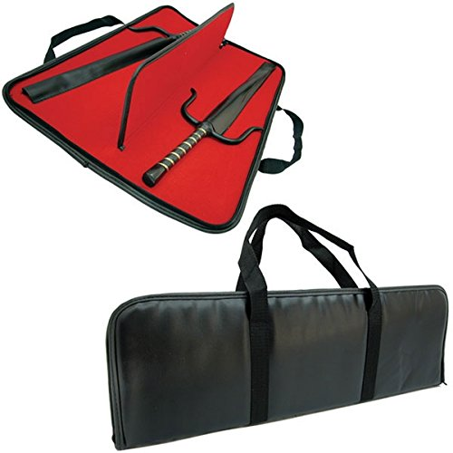 BladesUSA-2401-Sai-Case-Sturdy-Vinyl-with-Zipper-Black