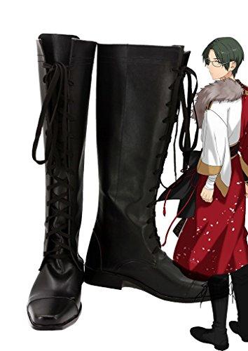 Ensemble Étoiles Morts-vivants Hasumi Keito Cosplay Chaussures Bottes Faites Sur Commande