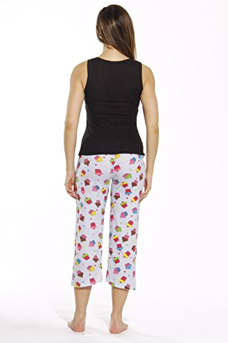 Just Love 6329-10008-XL Capri Sets/Women Sleepwear/Womans Pajamas/PJS by Just Love (Image #2)'
