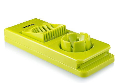 Gourmia GCU9265 Egg Slicer BPA Free Dual Function Egg Dicer & Wedger Features Stainless Steel Blades 21 x 8.5 x 5 cm (Commercial Egg Slicer compare prices)