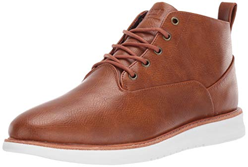 Ben Sherman Men's Nu Casual Chukka Boot, tan Polyurethane, 7.5 M US