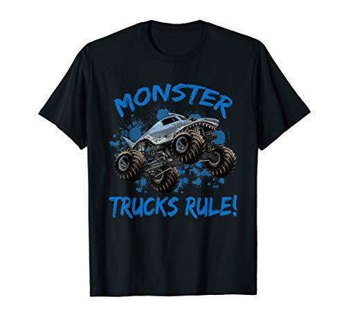 Monster Truck T-Shirt for Kids and -