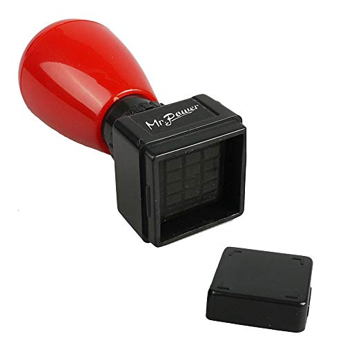 (Mr.Power Guitar Chord Stamp Black Ink(3 Frets)/Ukulele(5 fret) DIY Mini Rubber Stamp(Black Ink) )