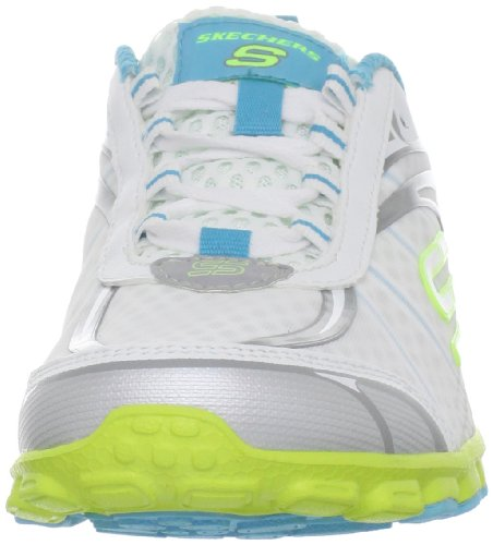 Yellow Skechers Women's Sport White Blue Barbed Wire fCYwqvf